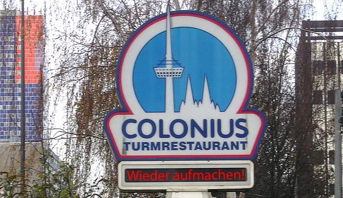 Gebt uns den Colonius zurück!