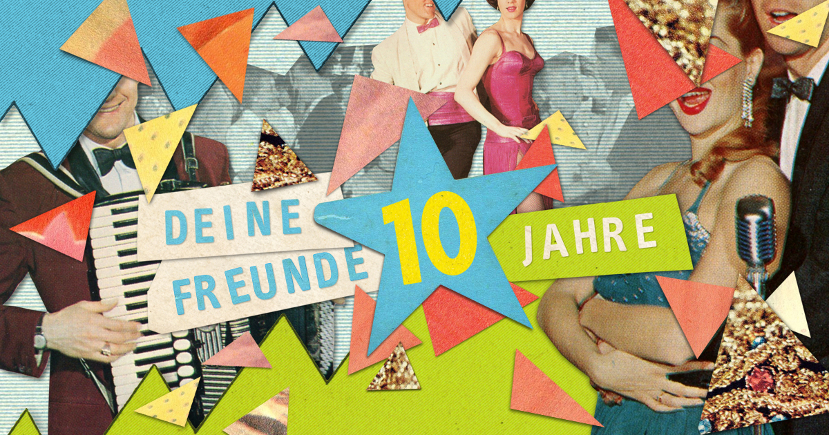 13. April – große Geburtstagparty – sei dabei! © kikkerbillen.de