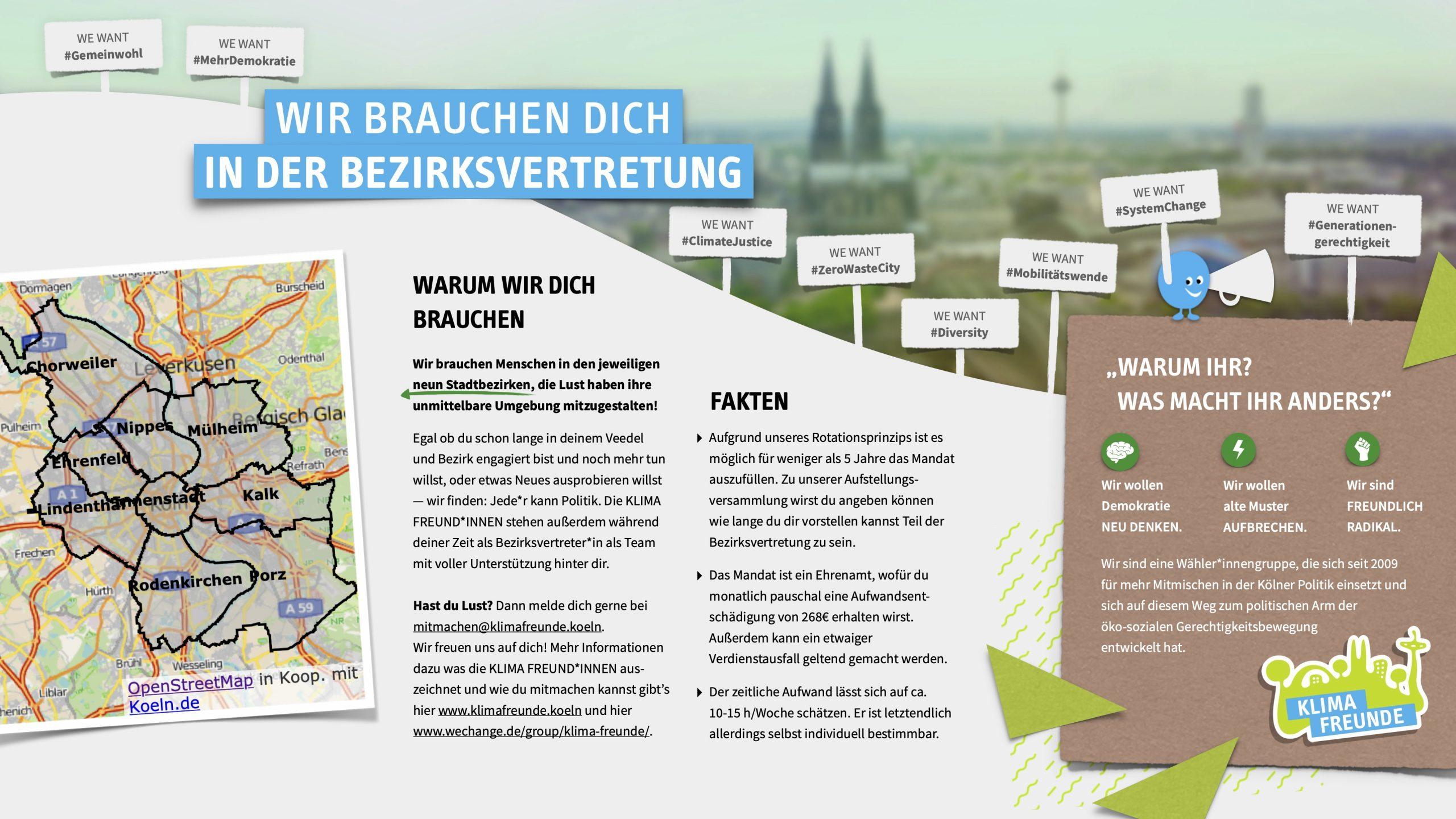 KLIMA FREUNDE Infoblatt BV