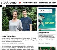 Stadtrevue Interview Screenshot