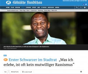 Presse: Kölnische Rundschau John