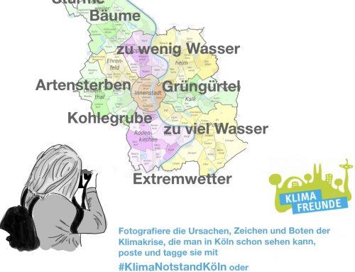 Aktion: Köln kriegt die Klimakrise!