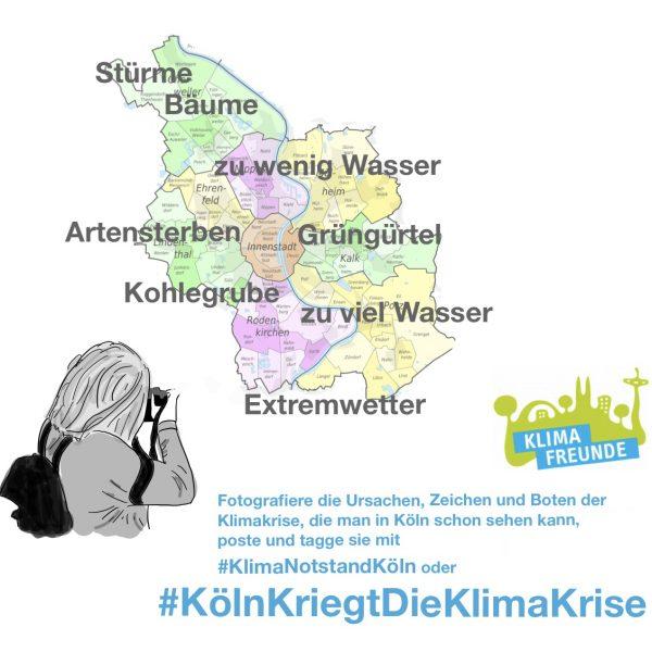 Aktion: Köln kriegt die Klimakrise