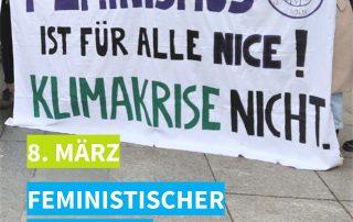 Feministischer Kampftag Klima Freunde